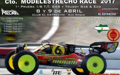 9 de Abril - Primera prueba del Campeonato Modelestrecho 1/8 TT Buggy y truggy nitro 2017. Espectacular nuevo trazado.
