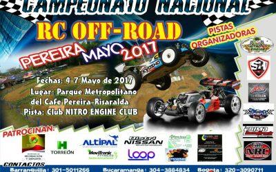 Colombia 4 a 7 de Mayo - Primera válida nacional off road en Pereira