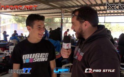 Video - Paseo por el paddock en el Camp. de España 1/8 TT Eléctrico en Silla
