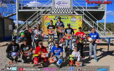Robert Batlle, campeón de la segunda prueba del Campeonato 1/8 TT Eléctrico, Silla.