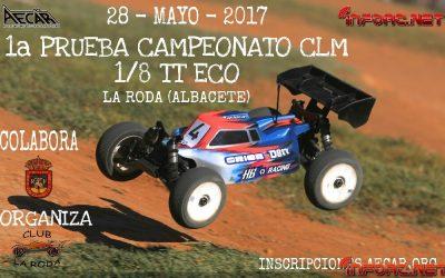 28 de Mayo - Comienza el Campeonato de Castilla La Mancha 1/8 TT Eléctrico