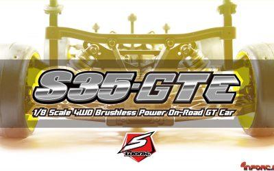 SWorkz entra al mundo del 1/8 GT con el nuevo  SWORKz S35-3GTE