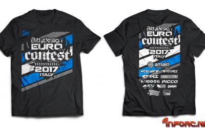Camisetas Euro Contest 2017 ¡Reserva hoy la tuya! Solo por tiempo limitado.