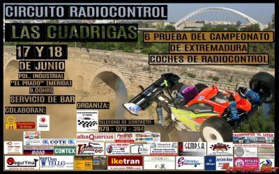 17 y 18 de Junio - Septima prueba del Campeonato de Extremadura 1/8 TT Gas 2017