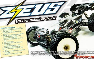 Zeus, el monster truck pro 1/8 de SWorkz