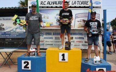 Resumen - Tercera prueba Camp. de Andalucía 1/8 TT Gas. Victoria para canas.
