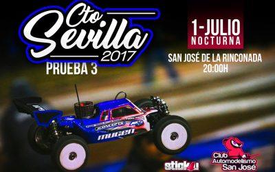 1 de Julio - Nocturna en San José de la Rinconada. Tercera prueba del Campeonato de Sevilla