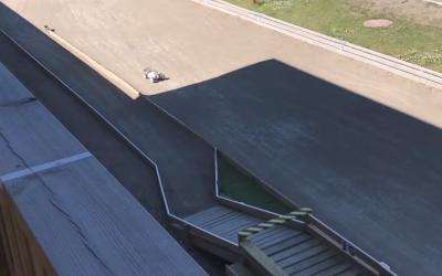 Video - David Ronnefalk rodando en Eskilstuna, circuito del Euro 1/8 TT Gas. ¿Qué opinas de sus baches?