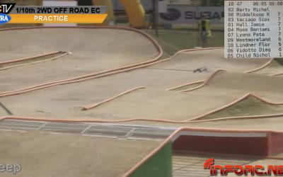 Video en directo - Clasificatorias del Campeonato de Europa 1/10 2WD