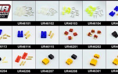 Ultimate Racing presenta su completa gama de cables y conectores eléctricos