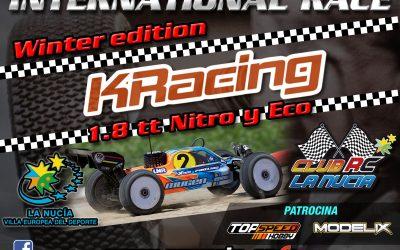 KRacing Winter Edition en La Nucía, la carrera internacional que no debes perderte. Video.