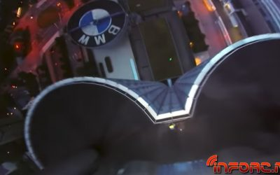 Video - Drones de carreras en el BMW Welt, sala de exposiciones y museo de la marca alemana
