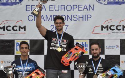 Edu Escandón, tercero de Europa en la categoría 1/10 touring gas