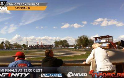 Video en directo - Finales del Campeonato del Mundo 1/8 pista. Resumen del Viernes por Javier García
