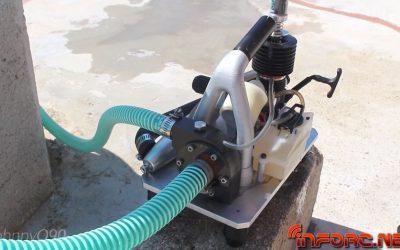 Video - Bomba de agua con motor nitro