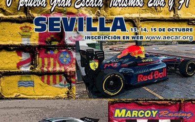 13, 14 y 15 de Octubre - Ultima prueba Camp. de España Gran Escala, turismos y F1