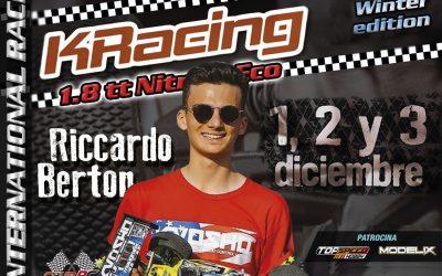 KRacing La Nucia confirma a Riccardo Berton ¡ya hay más de 50 inscritos, no te quedes fuera!