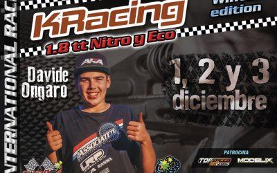 Davide Ongaro, otro top internacional confirmado para la KRacing La Nucia