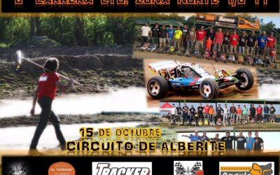 15 de octubre - Sexta carrera Campeonato Zona Norte 1/6 TT Gran escala
