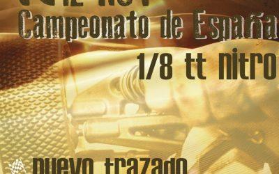 12 de Noviembre - Campeonato de España de resistencia 1/8 TT Gas en La Nucia. Dossier.