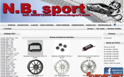 NB Sport, nuevo colaborador de infoRC. ¡Radiocontrol y llantas de aleación en un mismo sitio!