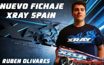 Ruben Olivares, nuevo fichaje XRay y Bullit España