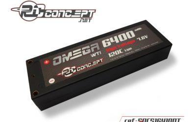 Nuevas Omega LiPo HV de RC Concept. Disponibles próximamente en Divermodel
