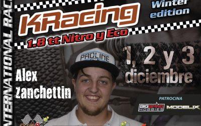 Alex Zanchettin gana en el mundial Indoor de Padova y confirma para la Winter Edition La Nucia