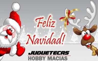 ¡Hobby Macias os desea felices fiestas! Se acerca el Sorteo de Navidad de infoRC