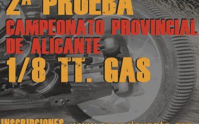 17 de Diciembre, segunda prueba provincial de Alicante en Club RC La Nucia