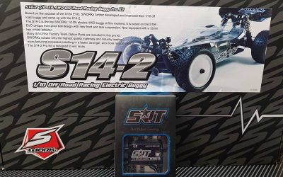 Montando el nuevo SWorkz 1/10 4WD S14-2 con Shark Racing