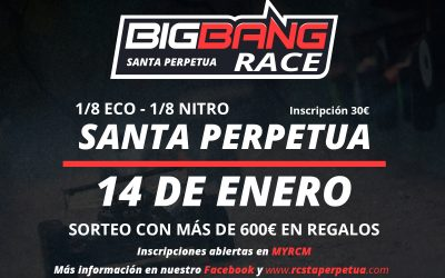13 y 14 de Enero - Quema todos los polvorones en la Big Bang Race