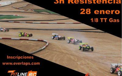28 de Enero - 3 horas de resistencia en Montbrio