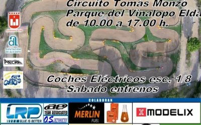 28 de Enero - Cuarta prueba Campeonato Levante 1/8 TT Eléctrico