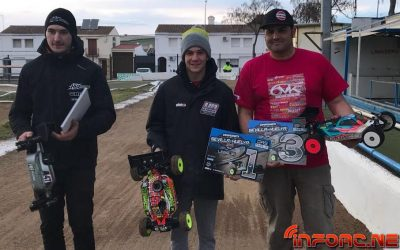 Juan Carlos Canas, David Ronnefalk y Dani Vega, top 3 en Warm Up del Camp. de Andalucia en Lebrija