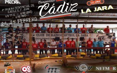 Este finde comienza el Campeonato provincial de Cádiz eléctricos 1/8 y 1/10