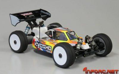Kyosho presenta una edición especial del MP9 TKI4 por su 10 aniversario