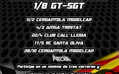 4 de Marzo - Comienza el Campeonato de Cataluña 2018 de GT. Calendario oficial aquí.