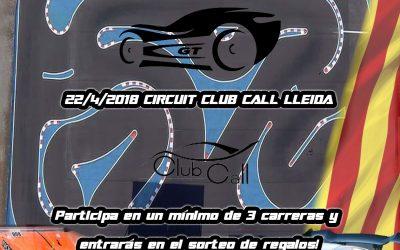 22 de Abril - Tercera prueba del Campeonato de Cataluña 1/8 GT