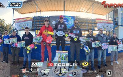 Juan Carlos Canas gana la primera prueba del Campeonato de España 1/8 TT Eléctrico