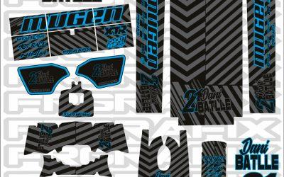 Dani Batlle ficha por FRGrafix, personalización de ropa y equipo