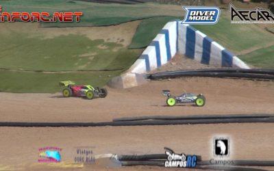 Video - Unas vueltas en Campos RC, Campeonato de España 1/8 TT Eléctrico