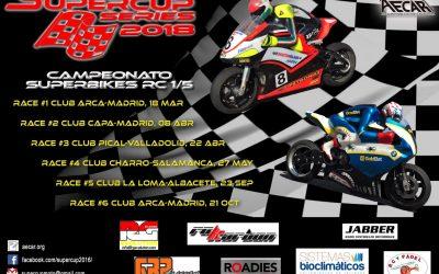 18 de Marzo - Comienza el Campeonato Superbikes 1/5 en Arca, Madrid