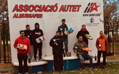 Resultados - Primera prueba Campeonato de España 1/8 pista gas y 1/10 touring gas