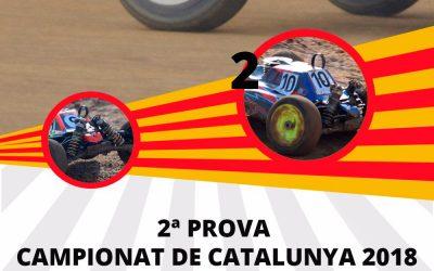 21 y 22 de Abril - Segunda prueba del Campeonato de Cataluña 1/8 TT nitro y eléctrico
