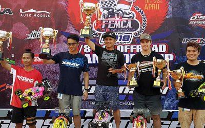 Atsushi Hara gana el Campeonato FEMCA 2018