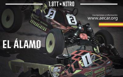 27 de Mayo - Segunda prueba del Campeonato de España A 1/8 TT Gas 2018 en El Alamo
