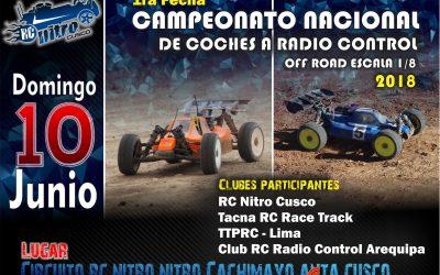 Perú - El 10 de Junio comienza el Campeonato nacional off road 1/8