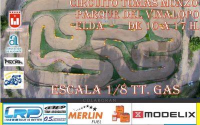 20 de Mayo - Quinta prueba del Levante 1/8 TT Gas 2018