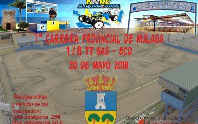 20 de Mayo - Comienza el Campeonato de Málaga 1/8 TT estrenando trazado